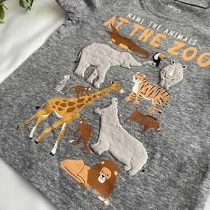 NWT Carter's Baby Boy Graphic Tee